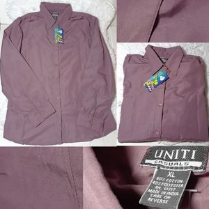 ☄Uniti Casuals Button Front Shirt-Size XL